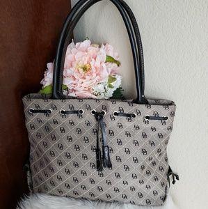 Dooney & Bourke Signature Black Handbag